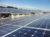Hangar solaire mise en place pour les industrielles
